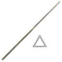 Надфиль алмазный треугольный равносторонний АС15 160мм